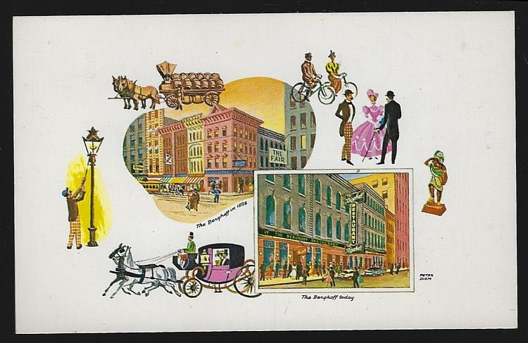 BERGHOFF RESTAURANT, CHICAGO, ILLINOIS, Postcard