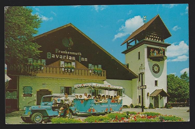 FRANKENMUTH BAVARIAN INN, FRANKENMUTH, MICHIGAN, Postcard