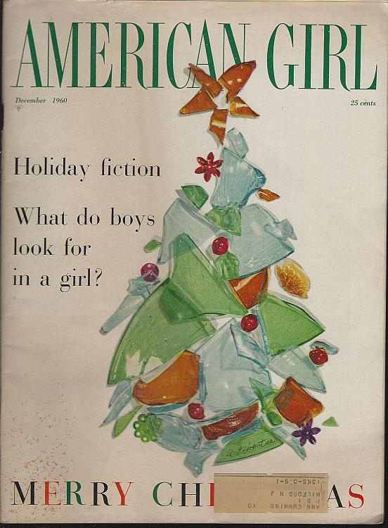 AMERICAN GIRL MAGAZINE DECEMBER 1960, Girl Scouts Of The U S A