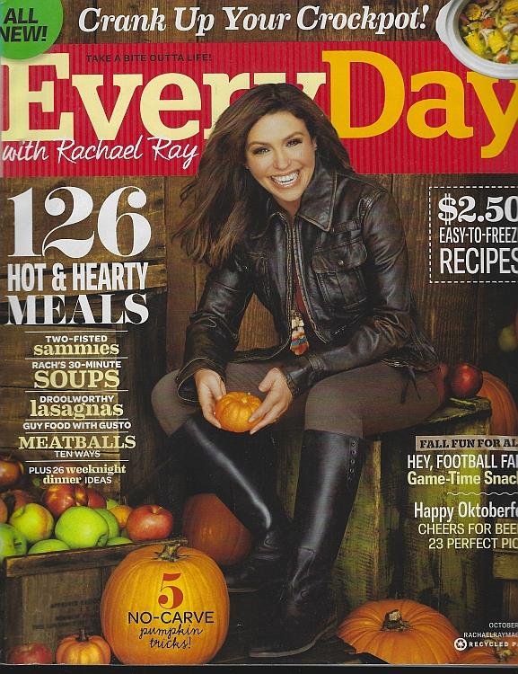 EVERYDAY WITH RACHAEL RAY MAGAZINE OCTOBER 2011, Ray, Rachael