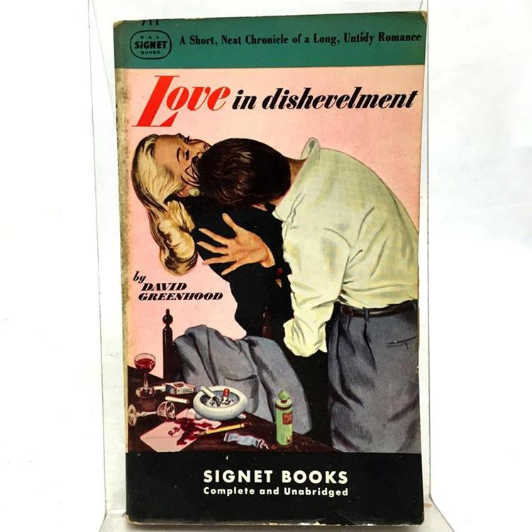 LOVE IN DISHEVELMENT, Greenhood, David