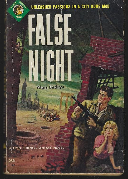 FALSE NIGHT, Budrys, Algis