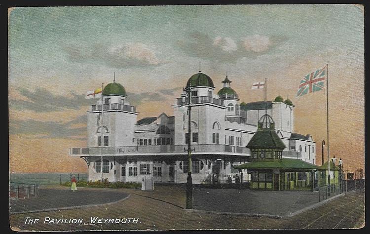 PAVILION, WEYMOUTH, ENGLAND, Postcard