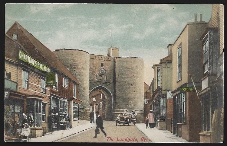 LANDGATE, RYE, ENGLAND, Postcard