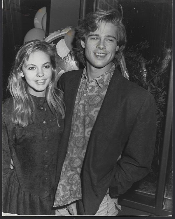ORIGINAL PHOTOGRAPH BRAD PITT AND SHALANE MCCALL AT PIP'S, Photograph