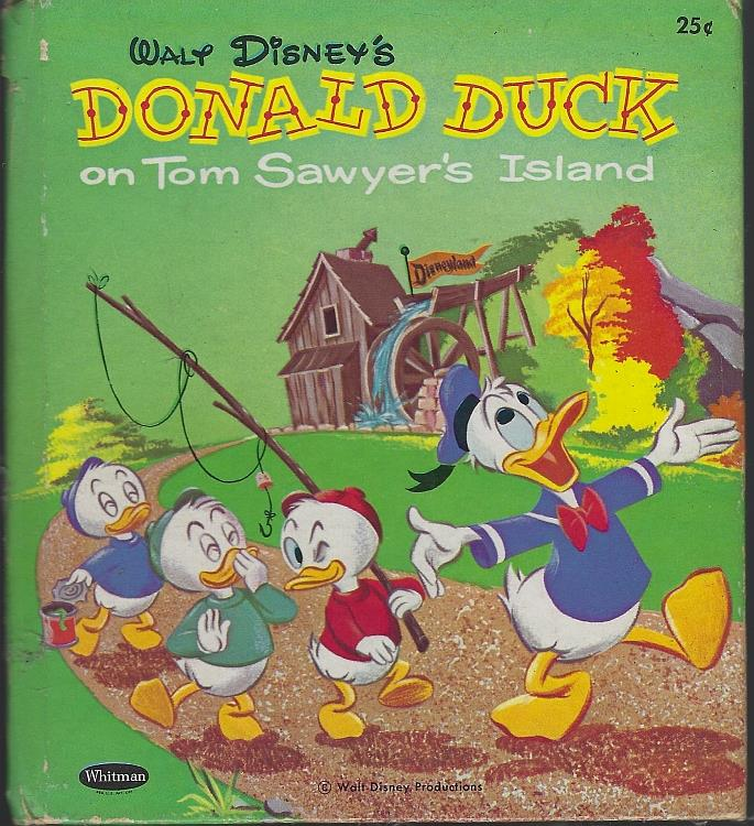 WALT DISNEY'S DONALD DUCK ON TOM SAWYER'S ISLAND, Snow, Dorothea