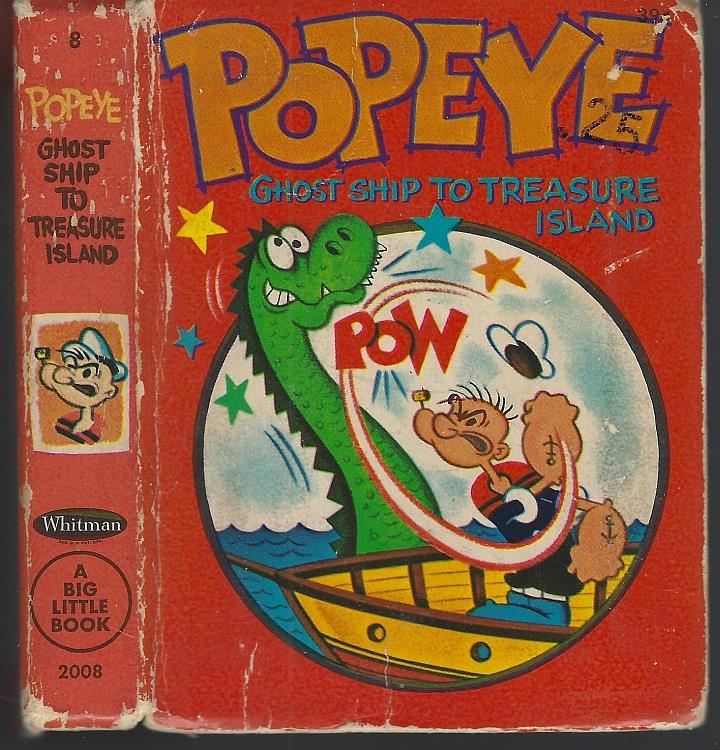 Image for POPEYE IN GHOST SHIP TO TREASURE ISLAND