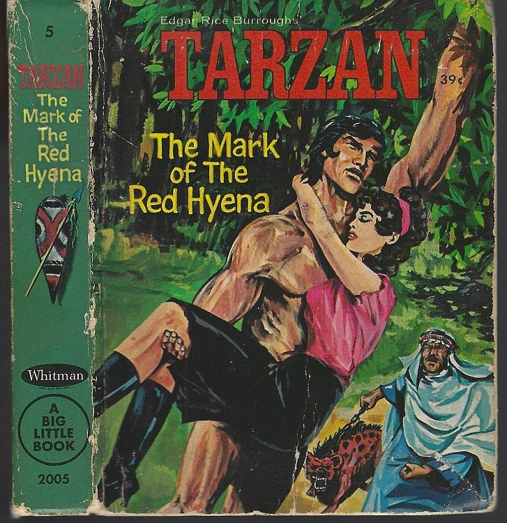 TARZAN THE MARK OF THE RED HYENA, Elrick, George