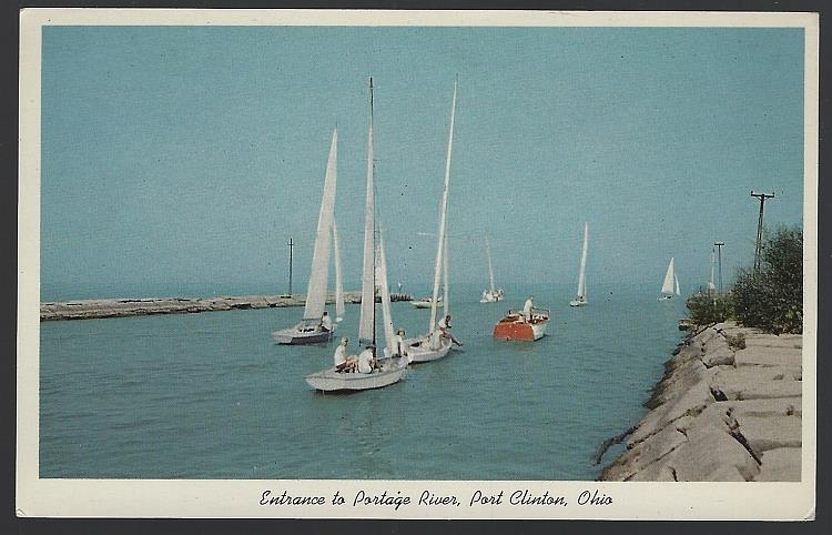 Image for ENTRANCE TO PORTAGE RIVER, PORT CLINTON, OHIO