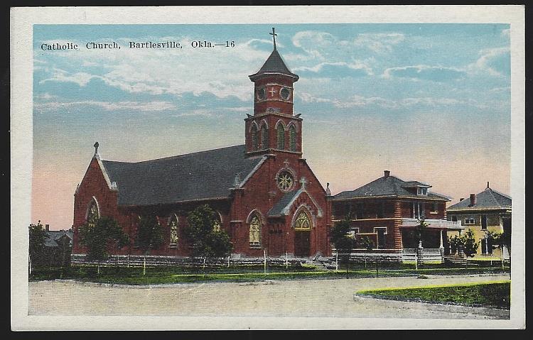 Image for CATHOLIC CHURCH, BARTLEVILLE, OKLAHOMA