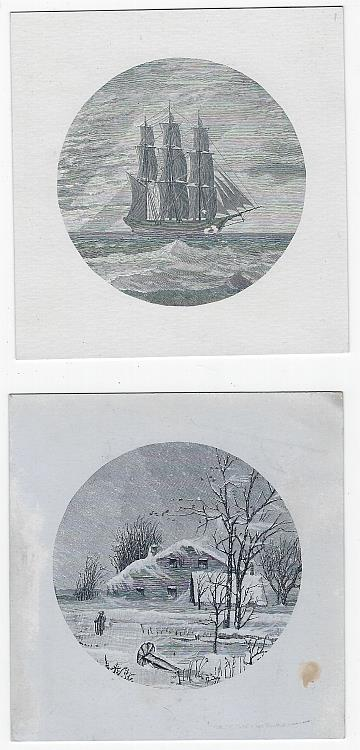 Image for LOT OF TWO VICTORIAN PICTURE CARDS