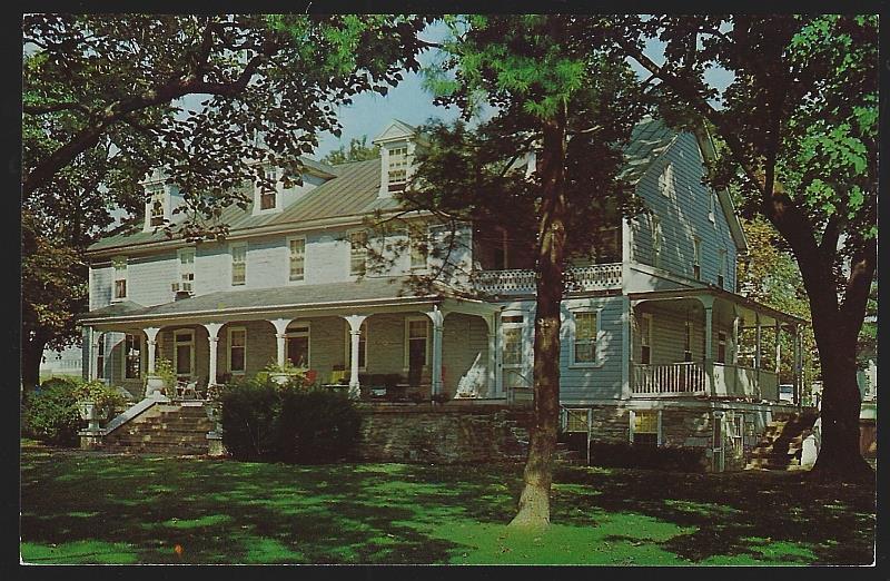 M. S. HERSHEY HOMESTEAD, HERSHEY, PENNSYLVANIA, Postcard