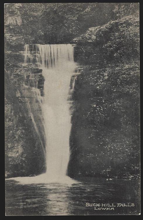 BUCK HILL FALLS. LOWER, PENNSYLVANIA, Postcard