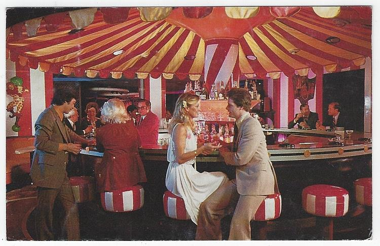 CAROUSEL BAR AND LOUNGE, THE MONTELEONE HOTEL, NEW ORLEANS, LOUISIANA, Postcard