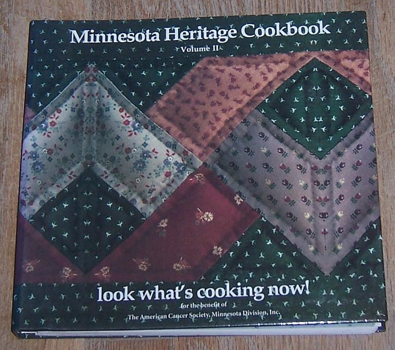 Image for MINNESOTA HERITAGE COOKBOOK VOLUME II Look What's Cooking Now