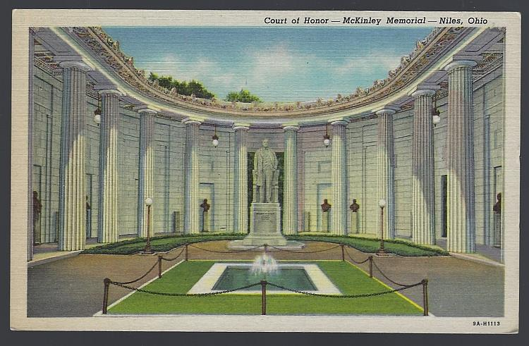 Image for COURT OF HONOR, MCKINLEY MONUMENT, NILES, OHIO