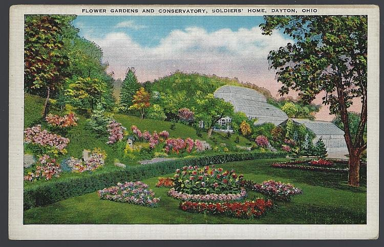 Image for FLOWER GARDEN AND CONSERVATORY, SOLDIERS' HOME, DAYTON, OHIO