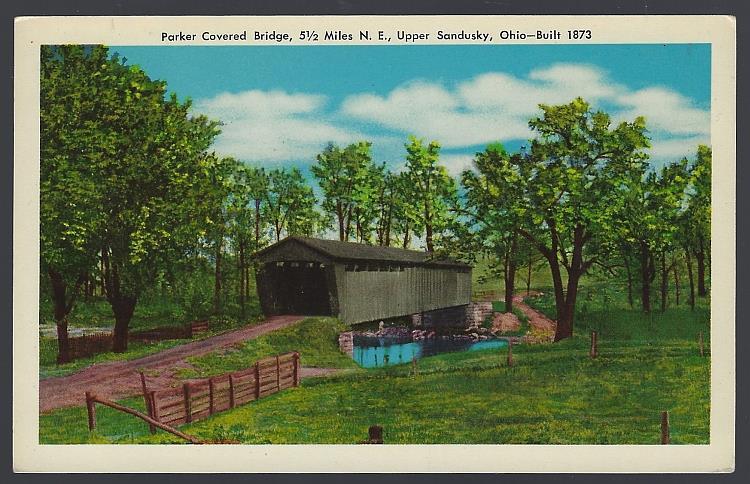 Image for PARKER COVERED BRIDGE, UPPER SANDUSKY, OHIO