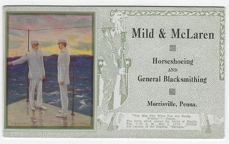 Image for MILD AND MCLAREN HORSESHOEING, MORRISVILLE, PENNSYLVANIA