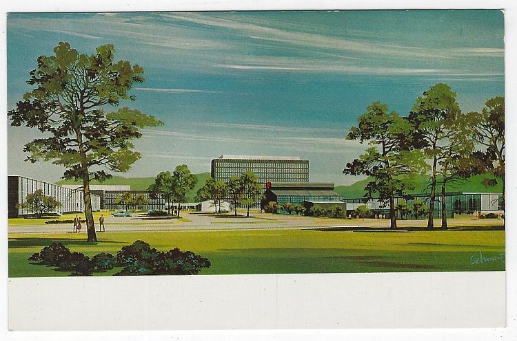 HOUGHTON PARK, CORNING GLASS WORKS, CORNING, NEW YORK, Postcard