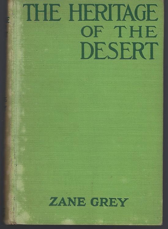 HERITAGE OF THE DESERT, Grey, Zane