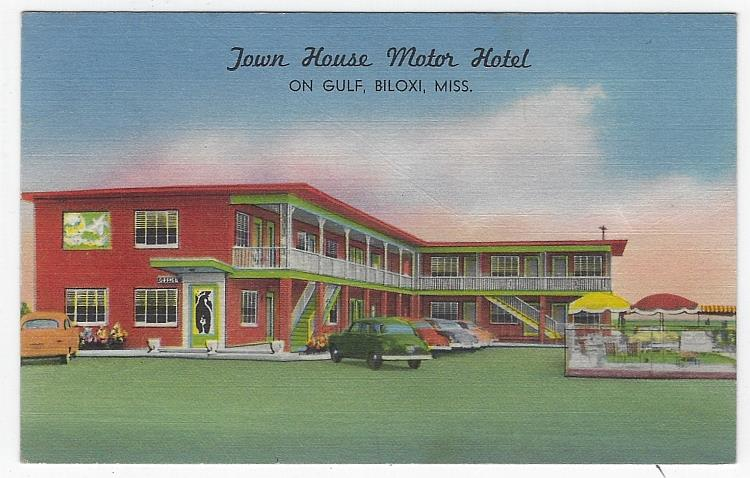 Image for TOWN HOUSE MOTOR HOTEL, BILOXI, MISSISSIPPI