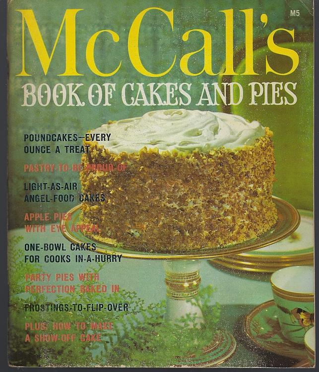 Image for MCCALL'S BOOK OF CAKES AND PIES