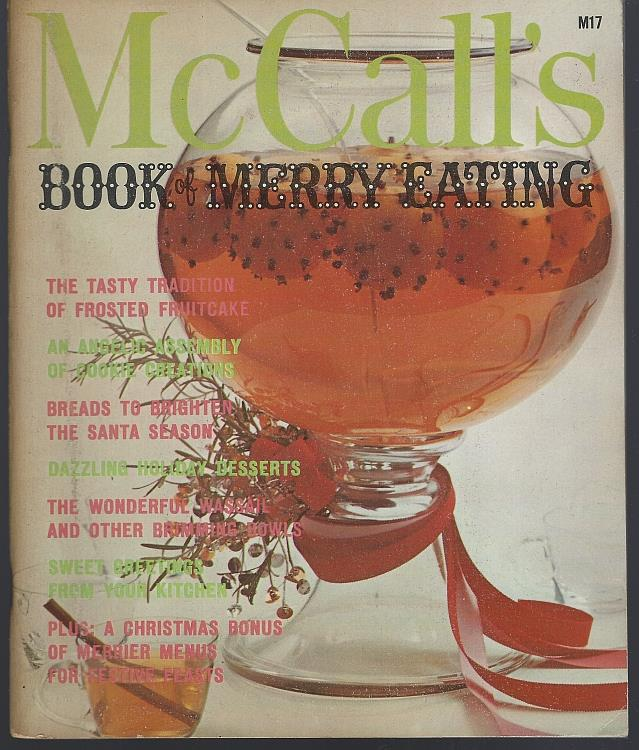 Image for MCCALL'S BOOK OF MERRY EATING