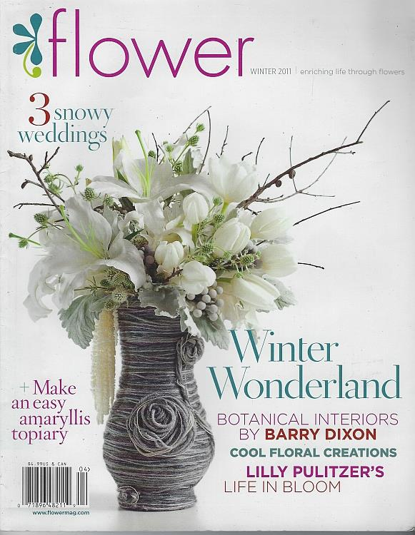 Image for FLOWER MAGAZINE WINTER 2011 Enriching Life through Flowers