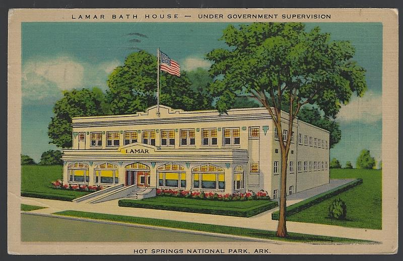 Image for LAMAR BATH HOUSE, HOT SPRINGS, ARKANSAS