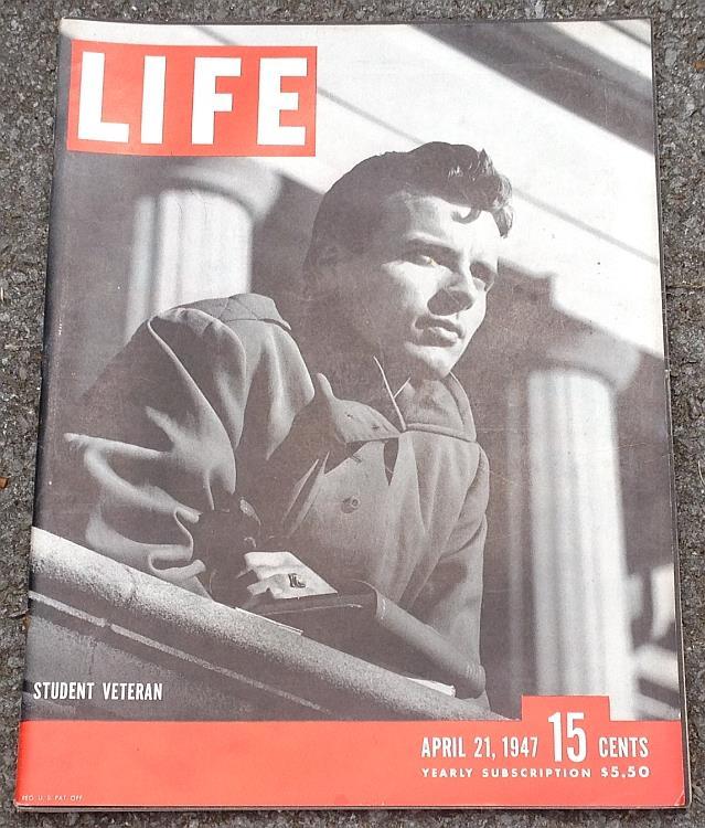 LIFE MAGAZINE APRIL 21, 1947, Life Magazine