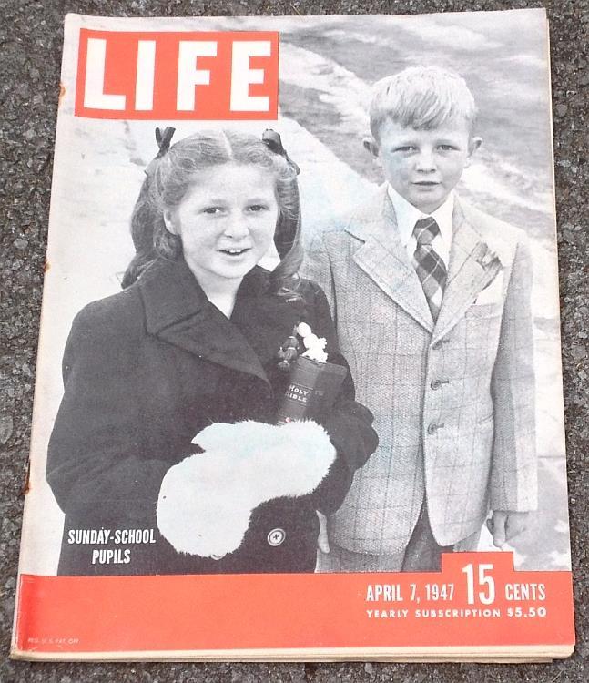LIFE MAGAZINE APRIL 7, 1947, Life Magazine