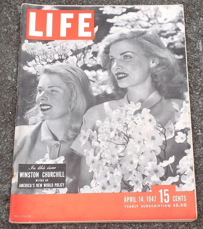 LIFE MAGAZINE APRIL 14, 1947, Life Magazine