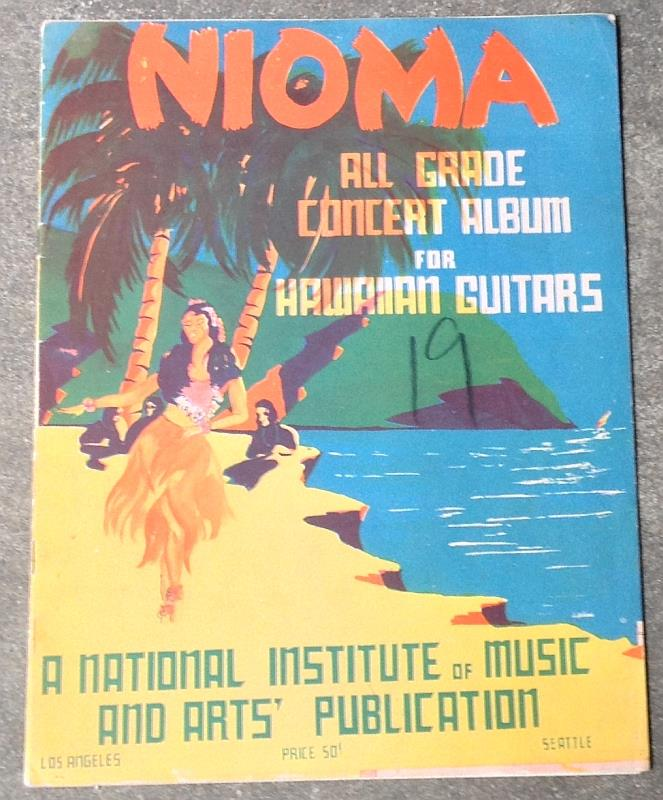 Image for NIOMA ALL GRADE CONCERT ALBUM HAWAIIAN GUITAR