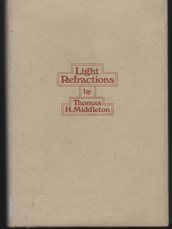 Image for LIGHT REFRACTIONS