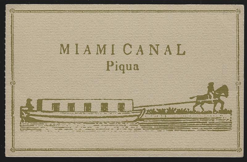 Image for MIAMI CANAL, PIQUA, OHIO