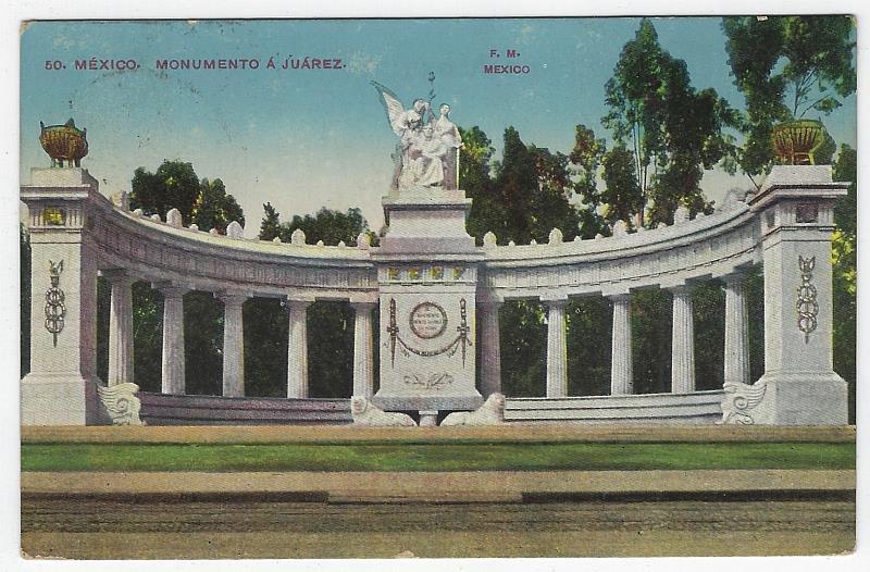 Image for MONUMENTO A JUAREZ, MEXICO CITY, MEXICO
