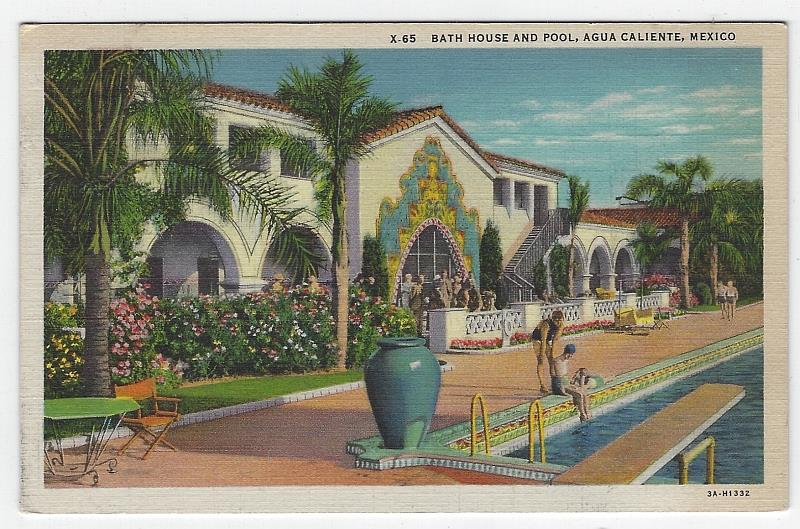 Image for BATH HOUSE AND POOL, AGUA CALIENTE, MEXICO