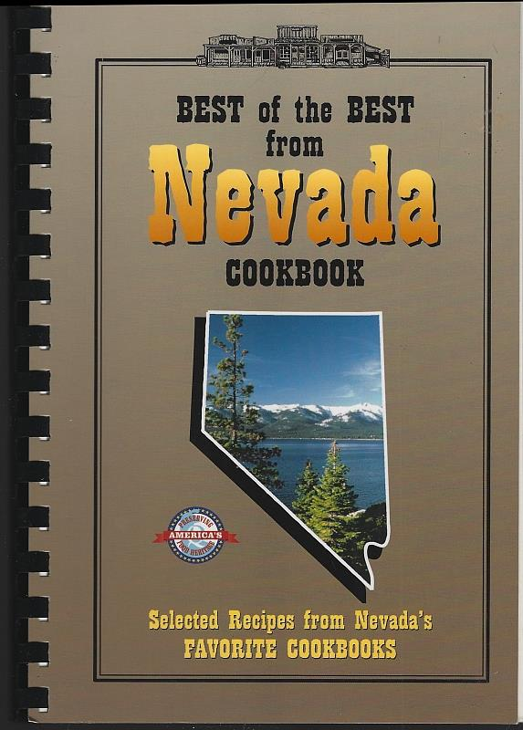 Image for BEST OF THE BEST FROM NEVADA COOKBOOK Selected Recipes from Nevada's Favorite Cookbooks