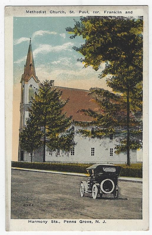 Image for METHODIST CHURCH, ST. PAUL, PENNS GROVE, NEW JERSEY