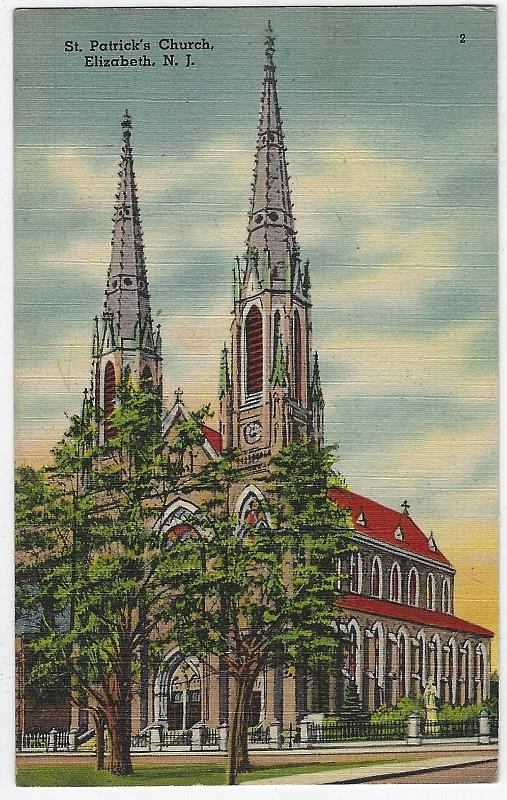 Image for ST. PATRICK'S CHURCH, ELIZABETH, NEW JERSEY