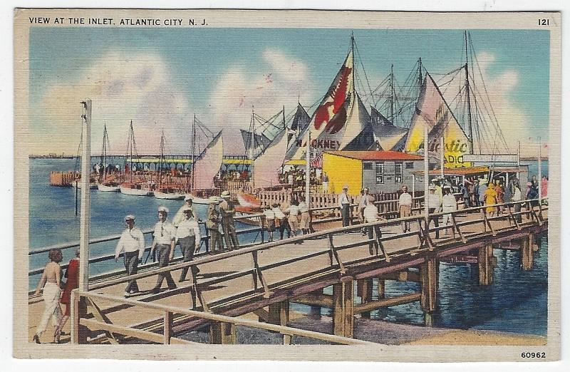 Image for VIEW AT THE INLET PIER, ATLANTIC CITY, NEW JERSEY