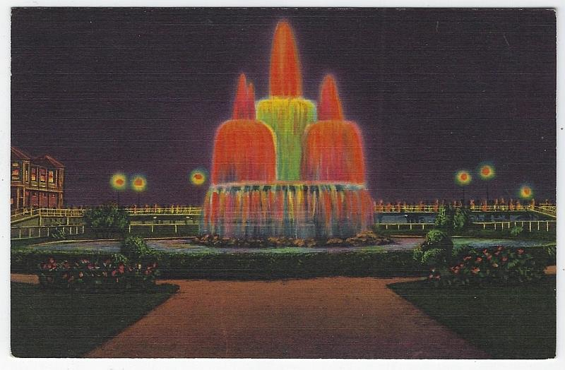Image for FOUNTAIN OF LIGHT, ATLANTIC CITY, NEW JERSEY