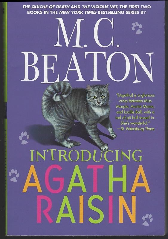 Image for INTRODUCING AGATHA RAISIN The Quiche of Death and the Vicious Vet