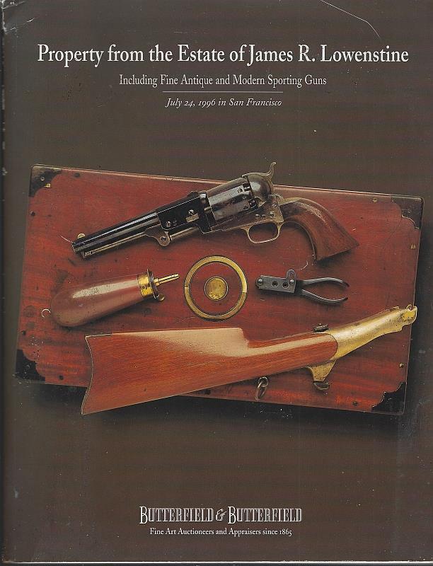 Image for FINE AMERICAN & EUROPEAN FIREARMS AND SPORTING GUNS FEATURING SELECTIONS FROM THE SMITH & WESSON MUSEUM COLLECTION, JULY 23 & 24, 1996 PROPERTY FROM THE ESTATE OF JAMES R. LOWENSTINE INCLUDING FINE ANTIQUE AND MODERN SPORTING GUNS, JULY 24, 1996