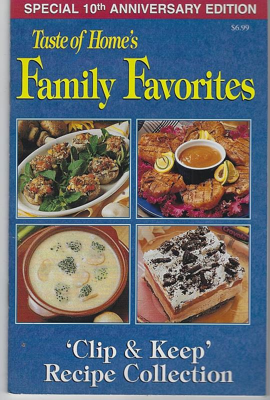 Image for FAMILY FAVORITES Clip and Keep Recipe Collection