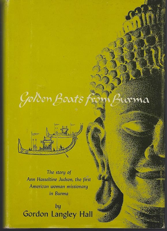 Image for GOLDEN BOATS FROM BURMA