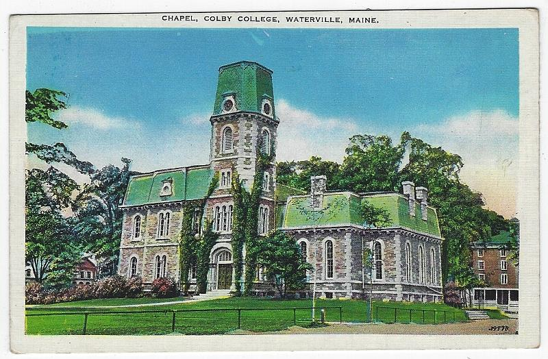 Image for CHAPEL, COLBY COLLEGE, WATERVILLE, MAINE