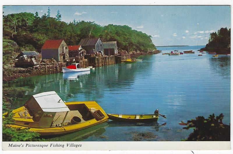 Image for MAINE'S PICTURESQUE FISHING VILLAGES
