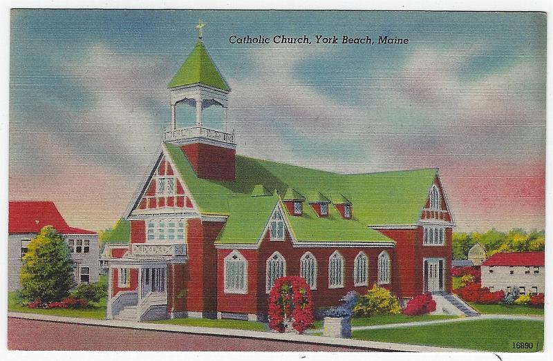 Image for CATHOLIC CHURCH, YORK BEACH, MAINE